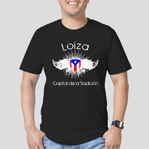 Loíza Men's Fitted T-Shirt (dark)