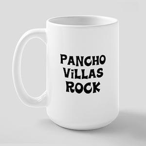 Pancho Villas Rock Large Mug