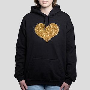 glitter-heart_0006_gold Sweatshirt