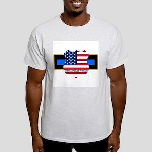 Policevets Logo 06 Ash Grey T-Shirt