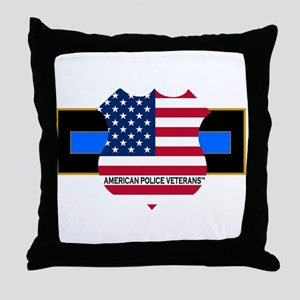 Policevets Logo 06 Throw Pillow