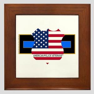 Policevets Logo 06 Framed Tile