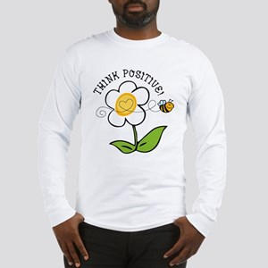 Think Positive Bee Long Sleeve T-Shirt