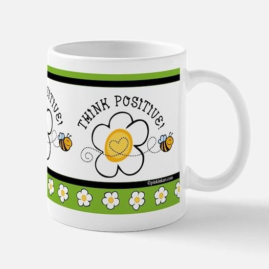Think Positive Bee Mug