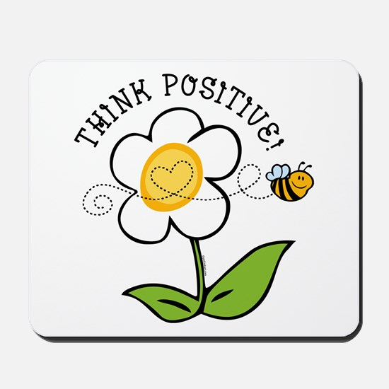 Think Positive Bee Mousepad