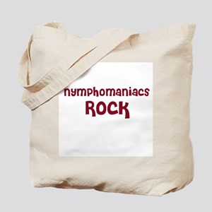 Nymphomaniacs Rock Tote Bag