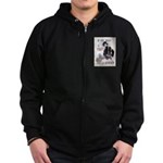 If You Want to Fight Zip Hoodie (dark)