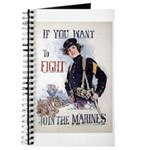 If You Want to Fight Journal