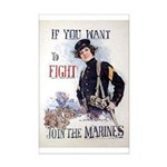 If You Want to Fight Mini Poster Print