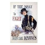 If You Want to Fight Postcards (Package of 8)