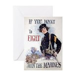 If You Want to Fight Greeting Card