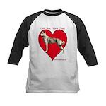 Valentine  Kids Baseball Jersey