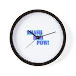 SMASHBAMPOW WRESTLING/MMA Wall Clock
