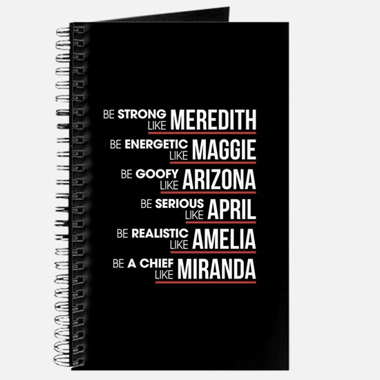 Be Strong Like Meredith Journal