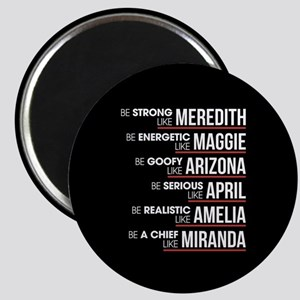 Be Strong Like Meredith Magnet