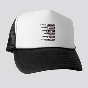 Be Strong Like Meredith Trucker Hat