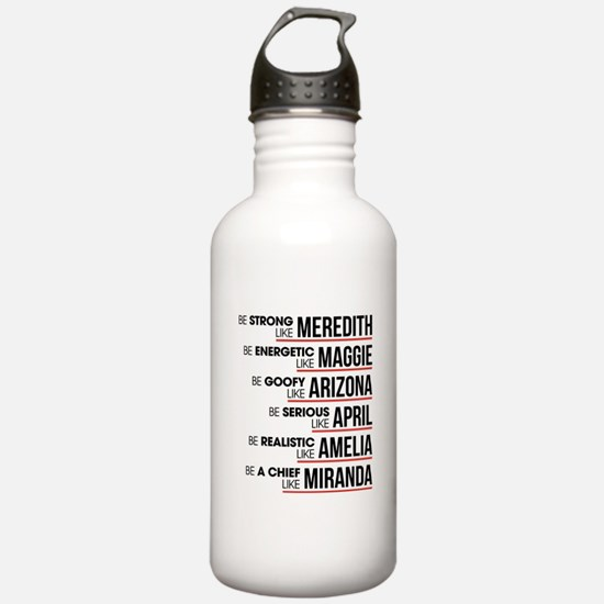 Be Strong Like Meredit Water Bottle