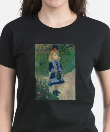 Pierre-Auguste Renoir A Girl with a Wateri T-Shirt