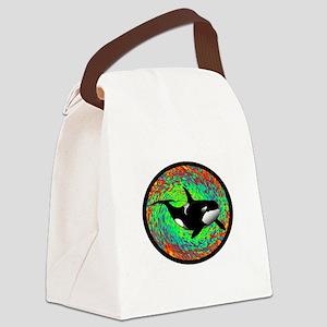 ORCA DREAM Canvas Lunch Bag