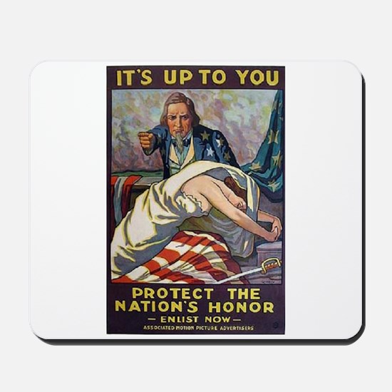 It's Up to You Mousepad