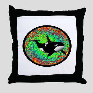 ORCA DREAM Throw Pillow