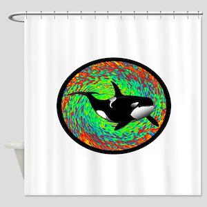 ORCA DREAM Shower Curtain