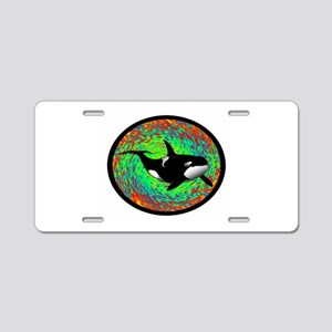 ORCA DREAM Aluminum License Plate