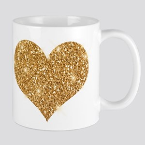 glitter-heart_0006_gold Mugs