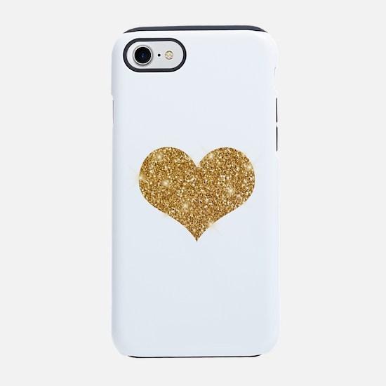 glitter-heart_0006_gold.png iPhone 7 Tough Case