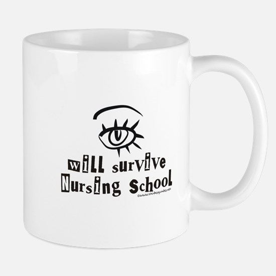 Survive Nursing School Mug