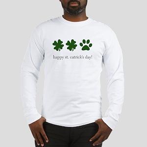 happy st. catrick's day! Long Sleeve T-Shirt
