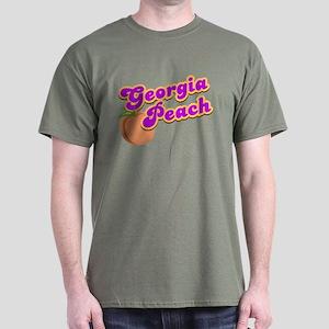 Georgia Peach Dark T-Shirt