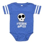 What's Hot! Baby Football Bodysuit