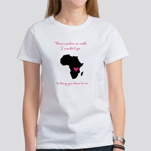 There's nowhere on earth Women's T-Shirt