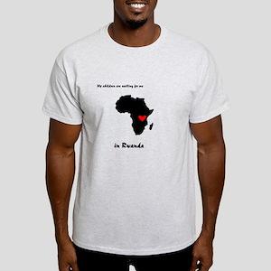 My sons are waiting Rwanda Light T-Shirt