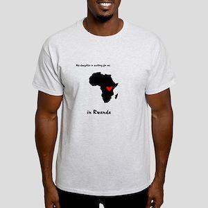 My Daughter is waiting Rwanda Light T-Shirt