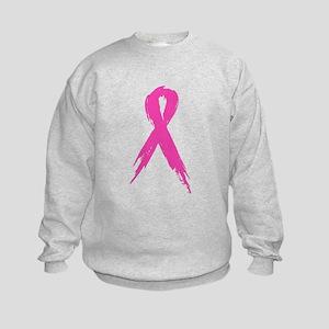 Pink Ribbon Kids Sweatshirt