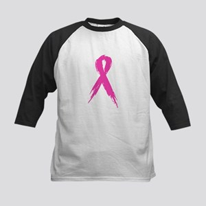 Pink Ribbon Kids Baseball Jersey