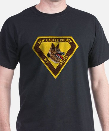 New Castle County Police K9 T-Shirt
