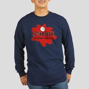 Schadenfreude 2 Long Sleeve Dark T-Shirt