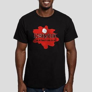 Schadenfreude 2 Men's Fitted T-Shirt (dark)