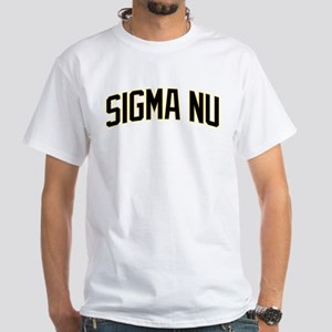 Sigma Nu Athletic White T-Shirt
