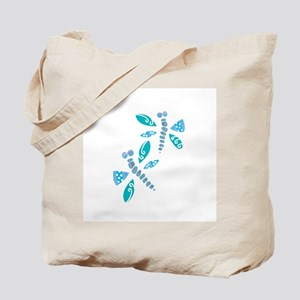 Abstract Dragonflies Tote Bag