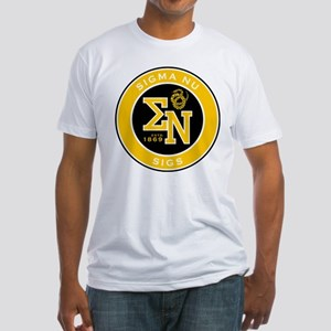 Sigma Nu Badge Fitted T-Shirt