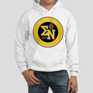 Sigma Nu Badge Hooded Sweatshirt
