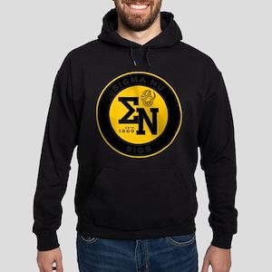 Sigma Nu Badge Hoodie (dark)
