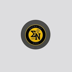 Sigma Nu Badge Mini Button