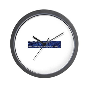 FutureLawyer Wall Clock