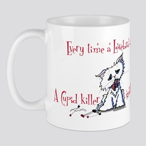 Cupid Killer Kitty Mug