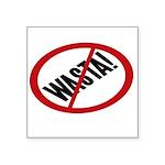 No Wasta Sticker